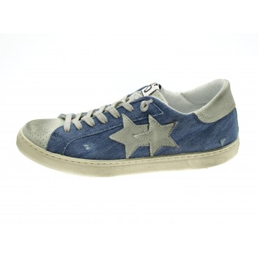 Twostar Sneakers Uomo Jeans...