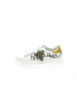 Gio+ Sneakers Donna Bianco G12b