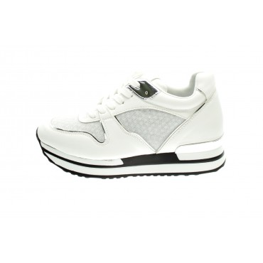 Zoom Sneakers Donna Bianco...