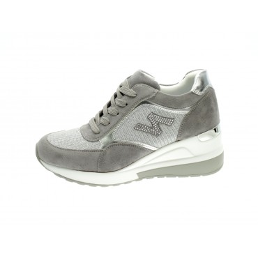 Zoom Sneakers Donna Argento...
